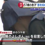 木内武史容疑者(57)母親を殺害したとして自首!顔画像の有無は?