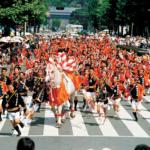 藤崎八幡宮例大祭2018の日程や内容、駐車場や交通規制は?